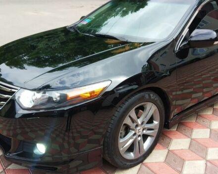 Черный Хонда Аккорд, объемом двигателя 2.4 л и пробегом 178 тыс. км за 11000 $, фото 1 на Automoto.ua