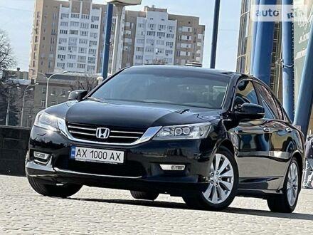 Черный Хонда Аккорд, объемом двигателя 2.4 л и пробегом 106 тыс. км за 15400 $, фото 1 на Automoto.ua