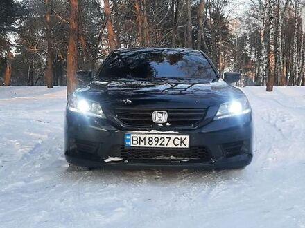 Чорний Хонда Аккорд, об'ємом двигуна 2.4 л та пробігом 200 тис. км за 13000 $, фото 1 на Automoto.ua