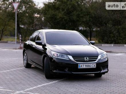 Черный Хонда Аккорд, объемом двигателя 2.4 л и пробегом 95 тыс. км за 12800 $, фото 1 на Automoto.ua