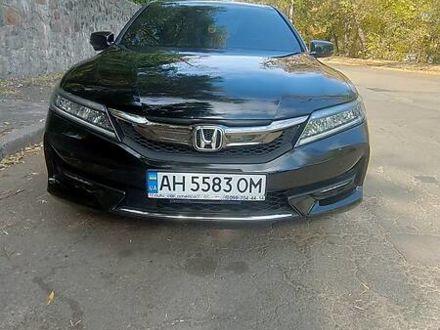 Черный Хонда Аккорд, объемом двигателя 3.5 л и пробегом 53 тыс. км за 19000 $, фото 1 на Automoto.ua