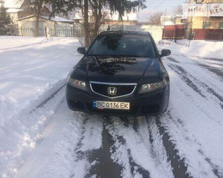Черный Хонда Аккорд, объемом двигателя 2 л и пробегом 320 тыс. км за 8300 $, фото 1 на Automoto.ua
