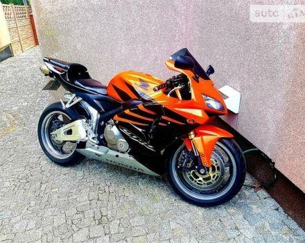 Оранжевый Хонда ЦБР, объемом двигателя 0.6 л и пробегом 31 тыс. км за 5800 $, фото 1 на Automoto.ua