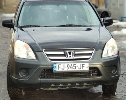 Черный Хонда СРВ, объемом двигателя 2.39 л и пробегом 154 тыс. км за 5800 $, фото 1 на Automoto.ua