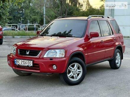 Червоний Хонда СРВ, об'ємом двигуна 2 л та пробігом 248 тис. км за 5300 $, фото 1 на Automoto.ua
