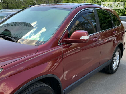 Червоний Хонда СРВ, об'ємом двигуна 2.4 л та пробігом 195 тис. км за 12100 $, фото 1 на Automoto.ua