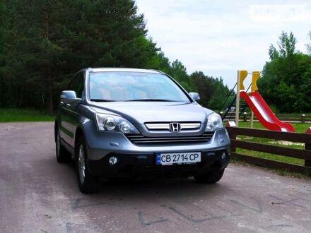 Сірий Хонда СРВ, об'ємом двигуна 2.4 л та пробігом 176 тис. км за 12500 $, фото 1 на Automoto.ua