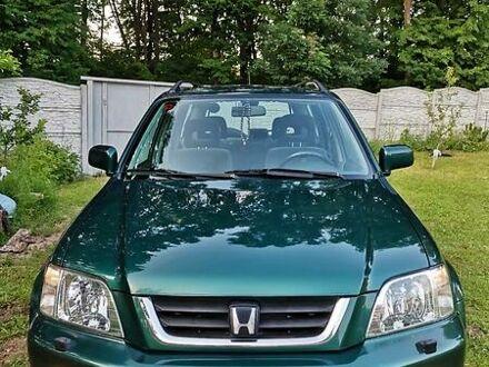 Зелений Хонда СРВ, об'ємом двигуна 2 л та пробігом 152 тис. км за 10500 $, фото 1 на Automoto.ua