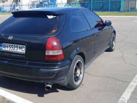 Чорний Хонда Сівік, об'ємом двигуна 1.4 л та пробігом 270 тис. км за 4200 $, фото 1 на Automoto.ua