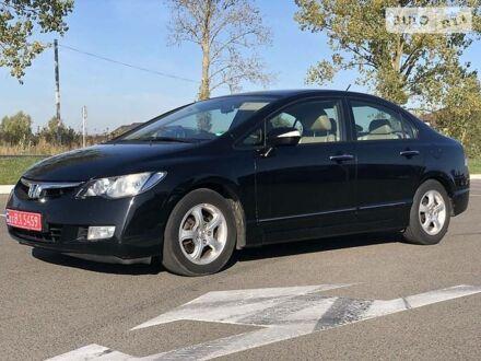 Черный Хонда Цивик, объемом двигателя 1.3 л и пробегом 277 тыс. км за 6900 $, фото 1 на Automoto.ua