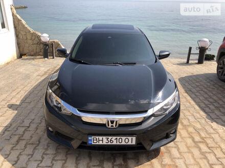 Черный Хонда Цивик, объемом двигателя 1.5 л и пробегом 135 тыс. км за 15000 $, фото 1 на Automoto.ua