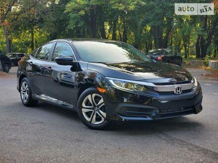 Чорний Хонда Сівік, об'ємом двигуна 2 л та пробігом 33 тис. км за 14300 $, фото 1 на Automoto.ua