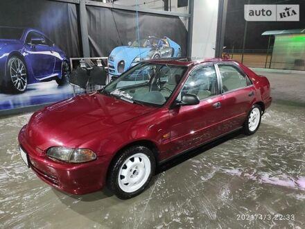 Червоний Хонда Сівік, об'ємом двигуна 1.5 л та пробігом 260 тис. км за 3999 $, фото 1 на Automoto.ua
