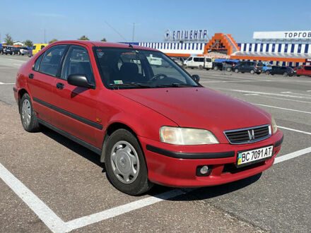 Красный Хонда Цивик, объемом двигателя 0 л и пробегом 255 тыс. км за 3800 $, фото 1 на Automoto.ua