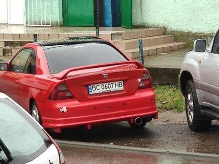 Червоний Хонда Сівік, об'ємом двигуна 1.7 л та пробігом 320 тис. км за 4500 $, фото 1 на Automoto.ua