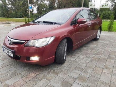 Красный Хонда Цивик, объемом двигателя 1.3 л и пробегом 230 тыс. км за 6459 $, фото 1 на Automoto.ua
