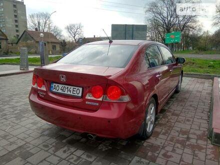 Червоний Хонда Сівік, об'ємом двигуна 1.3 л та пробігом 183 тис. км за 5999 $, фото 1 на Automoto.ua