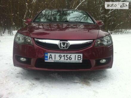 Красный Хонда Цивик, объемом двигателя 1.8 л и пробегом 83 тыс. км за 11500 $, фото 1 на Automoto.ua