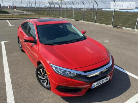 Червоний Хонда Сівік, об'ємом двигуна 2 л та пробігом 82 тис. км за 15800 $, фото 1 на Automoto.ua
