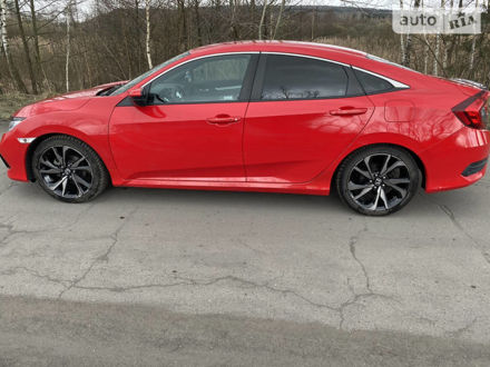 Красный Хонда Цивик, объемом двигателя 2 л и пробегом 17 тыс. км за 19200 $, фото 1 на Automoto.ua