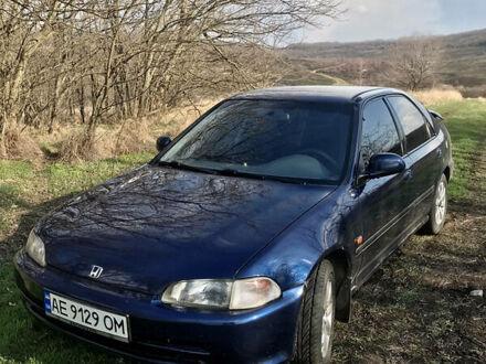 Синій Хонда Сівік, об'ємом двигуна 1.5 л та пробігом 392 тис. км за 2900 $, фото 1 на Automoto.ua