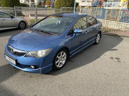 Синий Хонда Цивик, объемом двигателя 1.3 л и пробегом 223 тыс. км за 7500 $, фото 1 на Automoto.ua