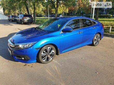 Синий Хонда Цивик, объемом двигателя 1.5 л и пробегом 82 тыс. км за 15500 $, фото 1 на Automoto.ua