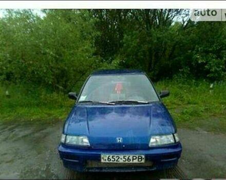 Синій Хонда Сівік, об'ємом двигуна 1.3 л та пробігом 100 тис. км за 2000 $, фото 1 на Automoto.ua