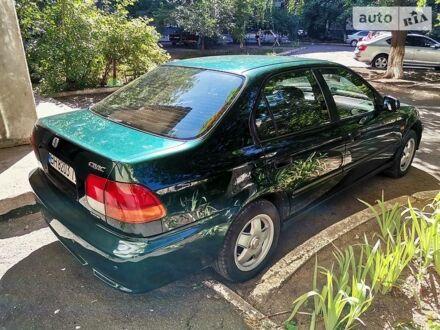 Зелений Хонда Сівік, об'ємом двигуна 1.4 л та пробігом 220 тис. км за 4300 $, фото 1 на Automoto.ua