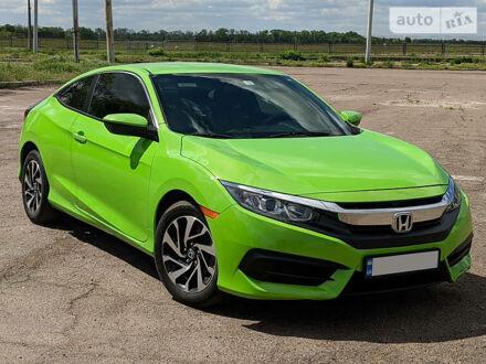 Зеленый Хонда Цивик, объемом двигателя 2 л и пробегом 87 тыс. км за 13500 $, фото 1 на Automoto.ua