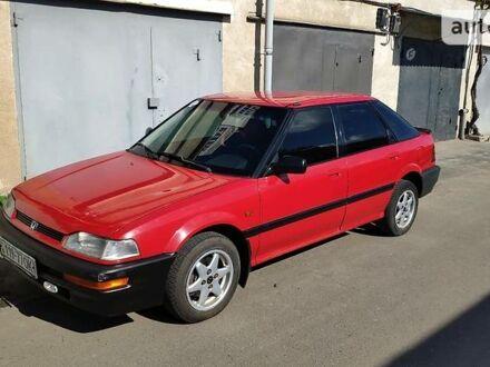 Красный Хонда Концерто, объемом двигателя 1.5 л и пробегом 175 тыс. км за 2200 $, фото 1 на Automoto.ua