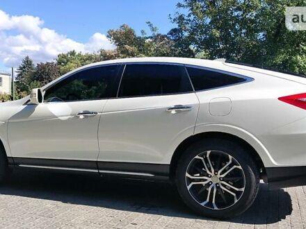 Білий Хонда Кросстур, об'ємом двигуна 2.4 л та пробігом 67 тис. км за 19000 $, фото 1 на Automoto.ua