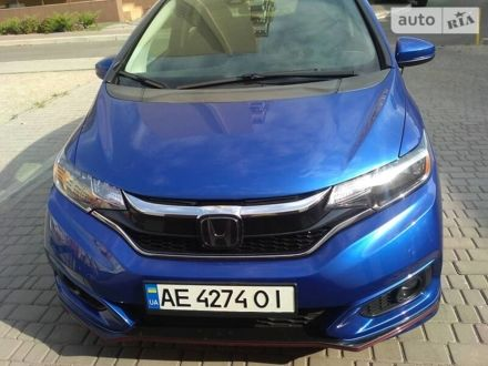 Синий Хонда ФИТ, объемом двигателя 1.5 л и пробегом 37 тыс. км за 13000 $, фото 1 на Automoto.ua