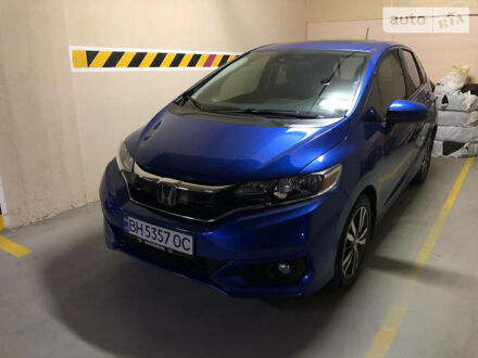 Синій Хонда ФІТ, об'ємом двигуна 1.5 л та пробігом 20 тис. км за 14100 $, фото 1 на Automoto.ua