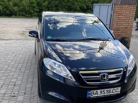Черный Хонда ФРВ, объемом двигателя 2 л и пробегом 200 тыс. км за 6550 $, фото 1 на Automoto.ua