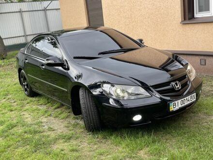 Черный Хонда Легенд, объемом двигателя 3.5 л и пробегом 178 тыс. км за 12999 $, фото 1 на Automoto.ua