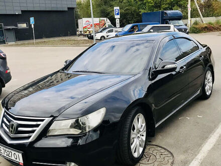 Чорний Хонда Легенд, об'ємом двигуна 3.7 л та пробігом 226 тис. км за 10500 $, фото 1 на Automoto.ua