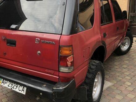 Красный Хонда Пасспорт, объемом двигателя 3.2 л и пробегом 240 тыс. км за 3500 $, фото 1 на Automoto.ua