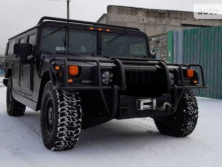 Черный Хаммер Н1, объемом двигателя 6.5 л и пробегом 72 тыс. км за 110000 $, фото 1 на Automoto.ua