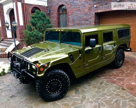 Зелений Хаммер Н1, об'ємом двигуна 5.7 л та пробігом 44 тис. км за 90000 $, фото 1 на Automoto.ua