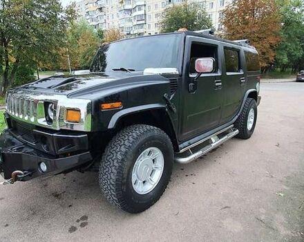 Черный Хаммер Н2, объемом двигателя 6 л и пробегом 235 тыс. км за 24300 $, фото 1 на Automoto.ua