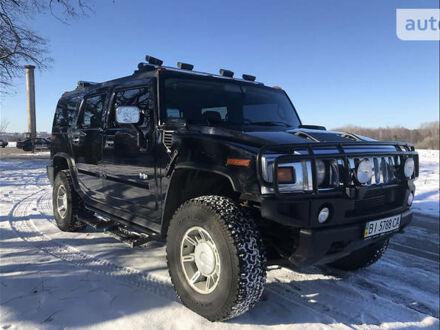 Черный Хаммер Н2, объемом двигателя 6 л и пробегом 150 тыс. км за 23000 $, фото 1 на Automoto.ua