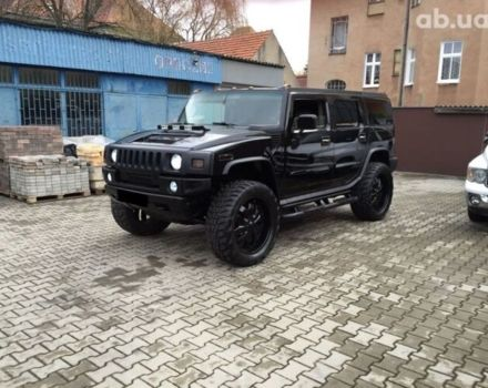 Черный Хаммер Н2, объемом двигателя 6 л и пробегом 85 тыс. км за 20000 $, фото 1 на Automoto.ua