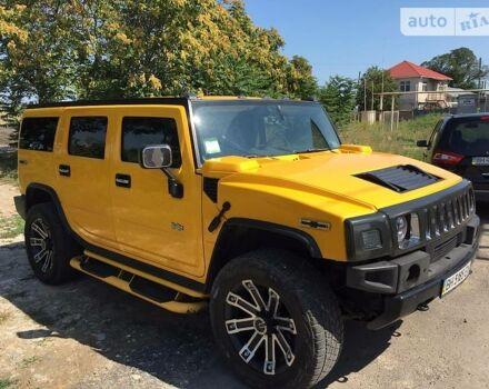 Жовтий Хаммер Н2, об'ємом двигуна 6 л та пробігом 80 тис. км за 32000 $, фото 1 на Automoto.ua