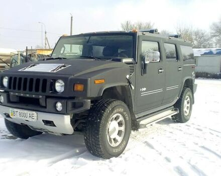 Чорний Хаммер Н2, об'ємом двигуна 6.2 л та пробігом 50 тис. км за 70000 $, фото 1 на Automoto.ua