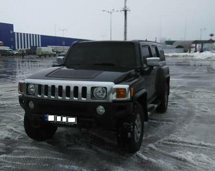 Черный Хаммер Н3, объемом двигателя 3.5 л и пробегом 128 тыс. км за 15900 $, фото 1 на Automoto.ua
