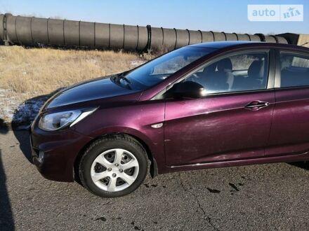 Фіолетовий Хендай Акцент, об'ємом двигуна 1.4 л та пробігом 31 тис. км за 9000 $, фото 1 на Automoto.ua