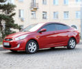 Красный Хендай Акцент, объемом двигателя 1.4 л и пробегом 157 тыс. км за 8500 $, фото 1 на Automoto.ua