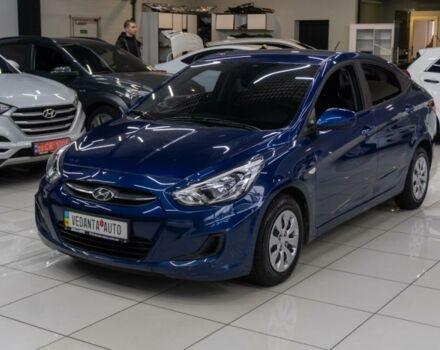 Синий Хендай Акцент, объемом двигателя 1.6 л и пробегом 152 тыс. км за 10700 $, фото 1 на Automoto.ua