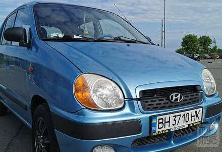 Синій Хендай Атос, об'ємом двигуна 1 л та пробігом 159 тис. км за 3700 $, фото 1 на Automoto.ua